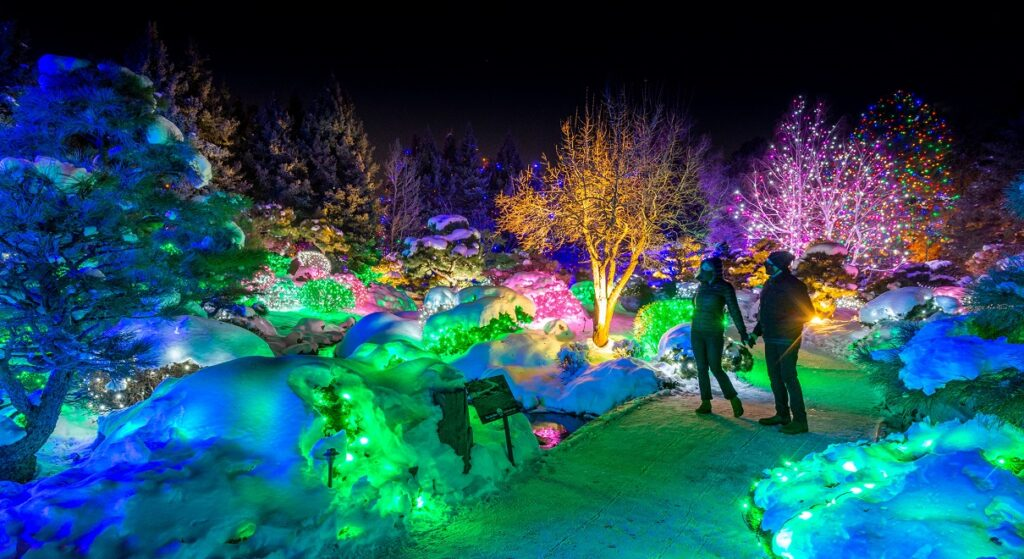 Blossoms of Light, Denver Botanic Gardens.
