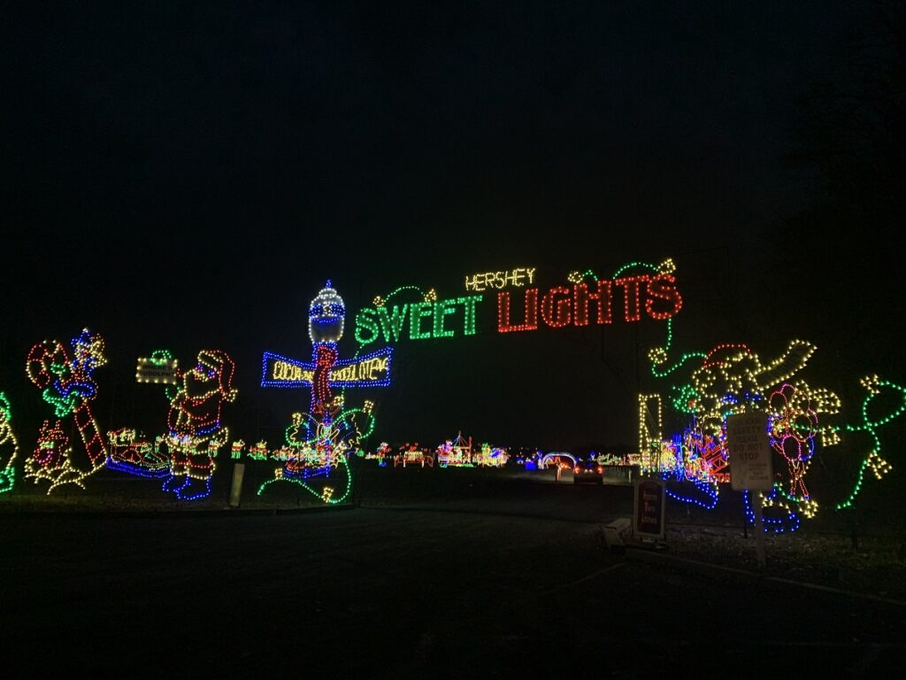 Hershey Sweet Lights presented by T-Mobile.