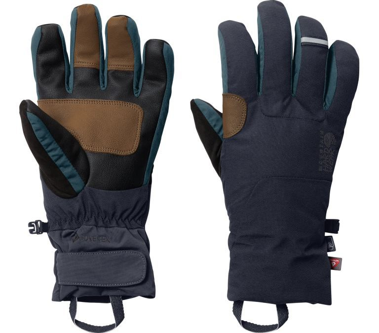 Ski Mitts and gloves from Mountain Hardwear feature latest technology