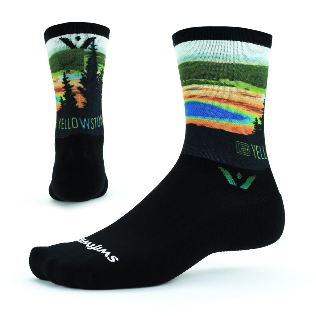Swiftwick National Park socks.