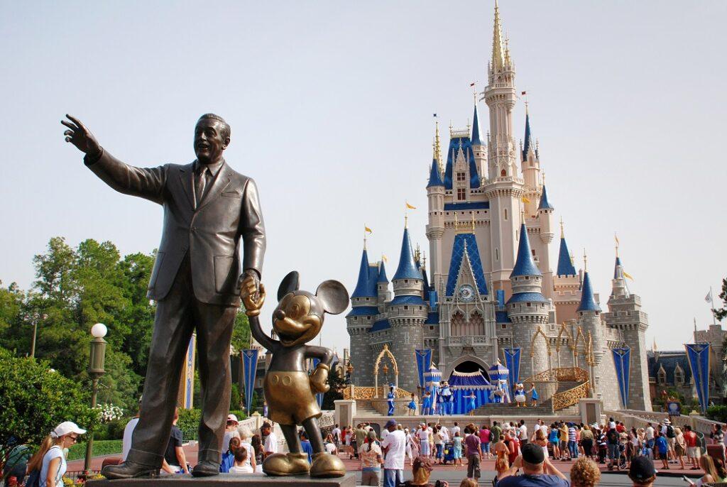 Cinderella Disney Castle in Magic Kingdom, Walt Disney World, Orlando, Florida.