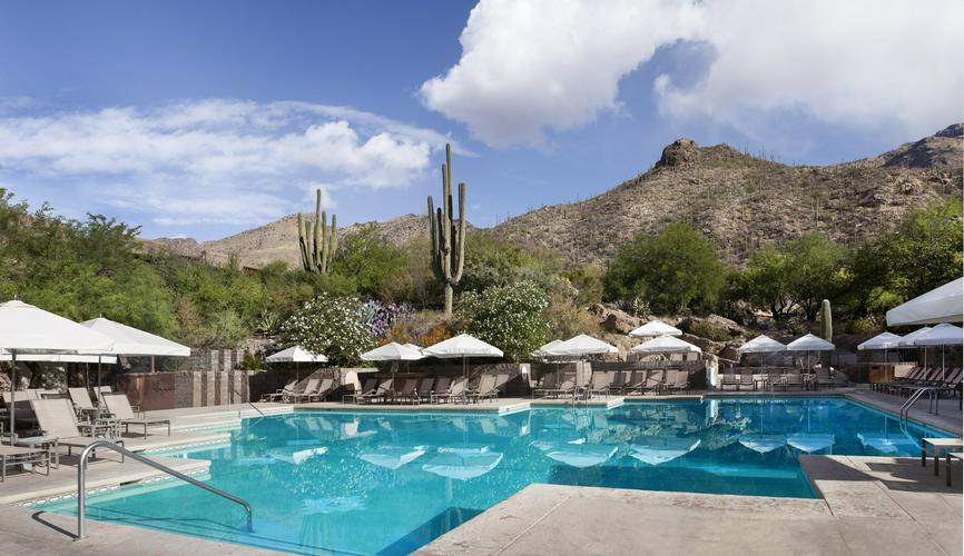 Poolside at Lowes Ventana Canyon Resort and Spa