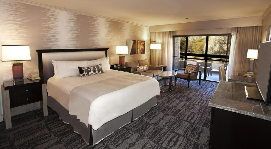 Inside the Lowes Ventana Canyon Resort and Spa
