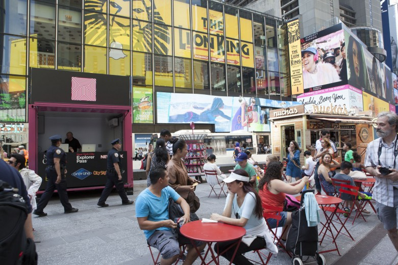 New York City in August – good time for families to visit
