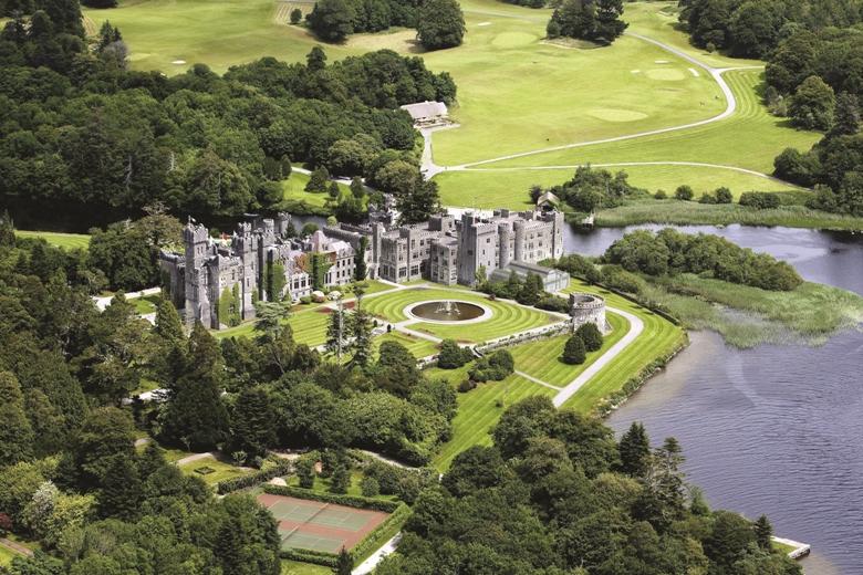 Ashford Castle in Western Ireland