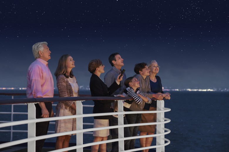 Learning about the world aboard a cruise ship