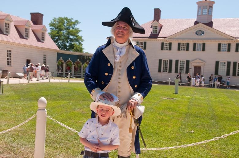 Head to Mount Vernon, Va., George Washington's home for the annual American Celebration