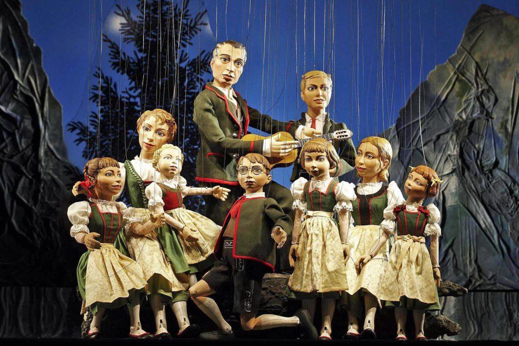 Sound of Music marionettes in Salzburg