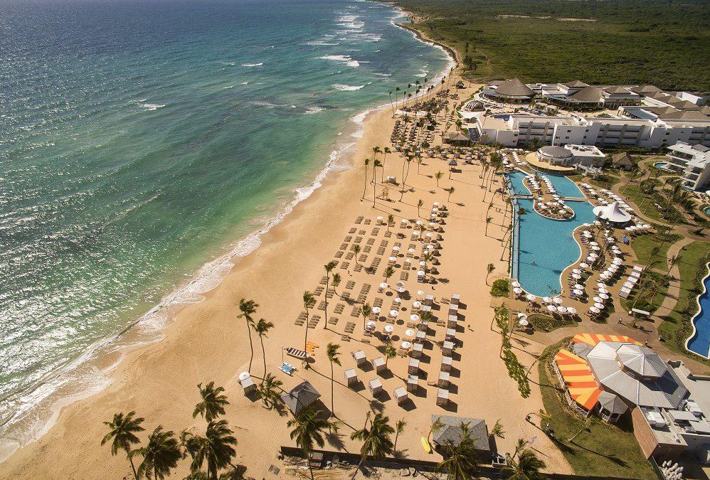 Getting slimed at Nick Punta Cana Resort