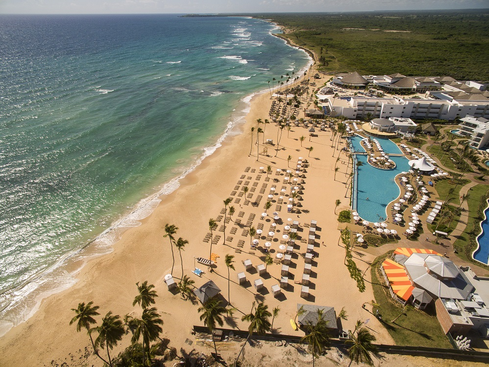 Aerial view of Nick Punta Cana