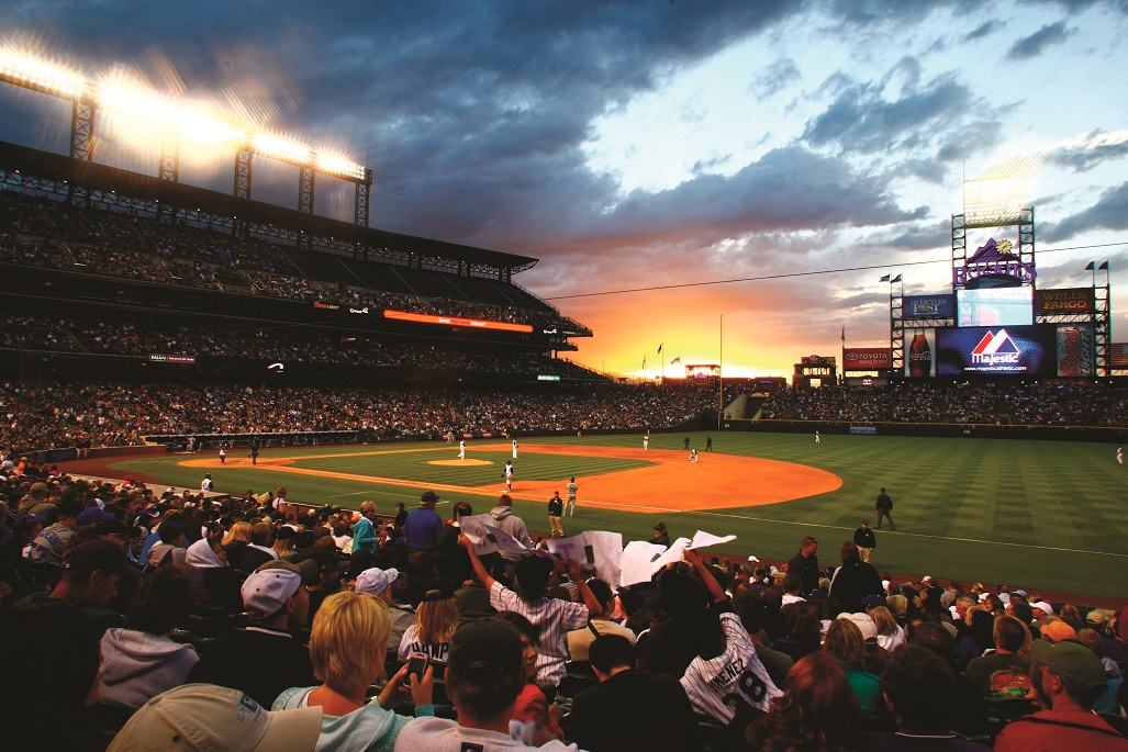 A Denver Rockies Game at Coors Field