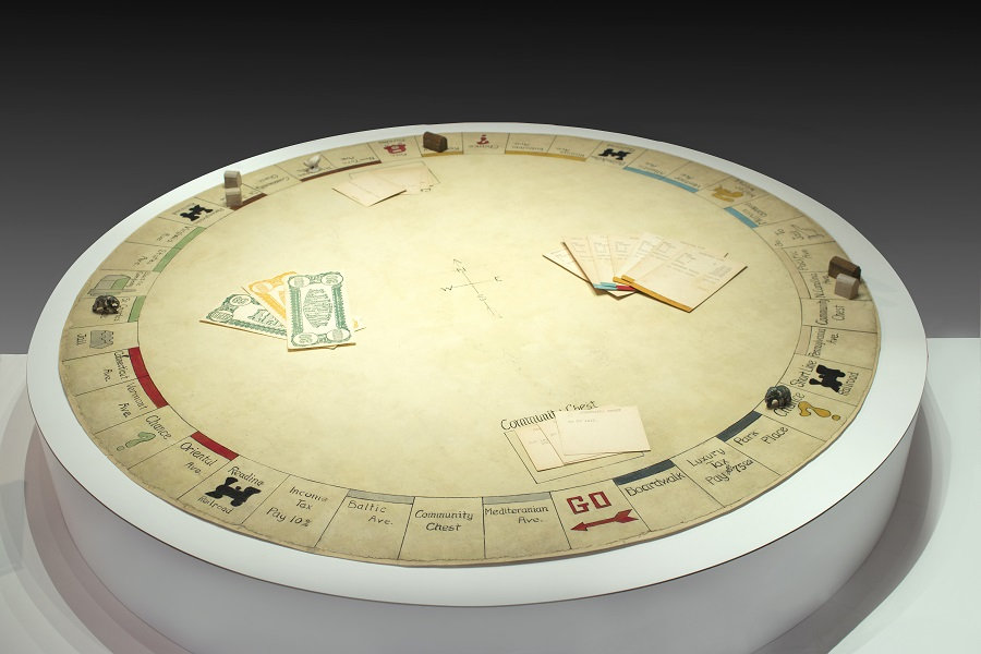 The first Monopoly game at the Strong Museum of Play