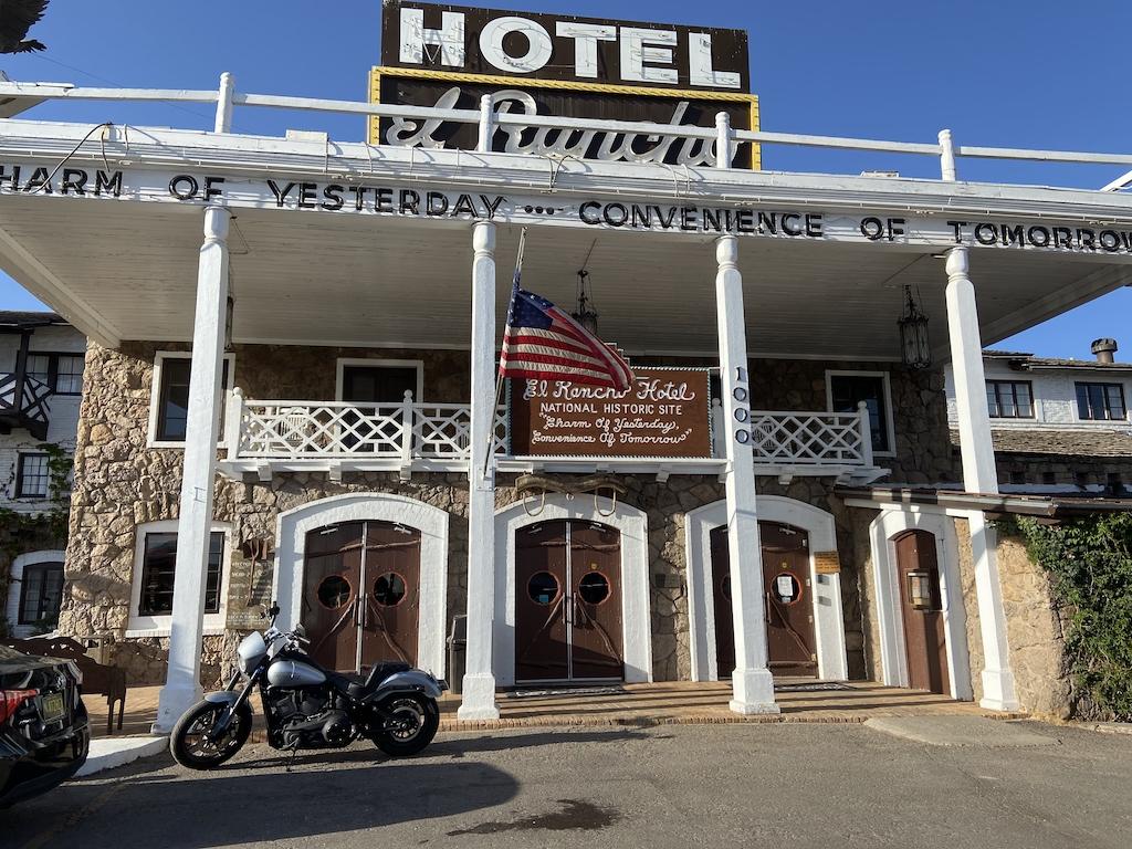 The historic El Ranch Hotel in Gallup NM