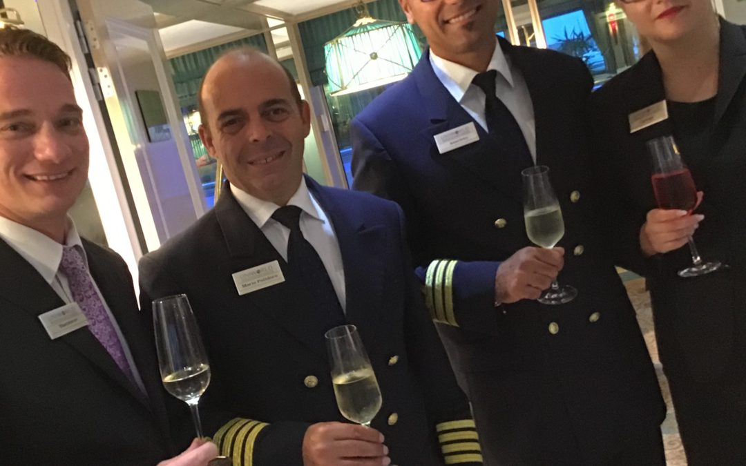 Postscript to the Uniworld Cruise -Let's hear it for the crew!