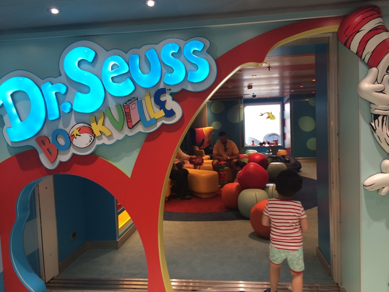 A great place to cozy up with a book on Carnival Vista
