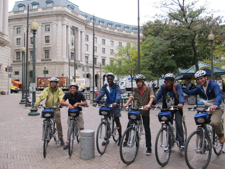 Touring on a bike offers new insights and fun