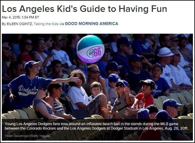 Eileen's Kids Guides featured on ABCNews.com