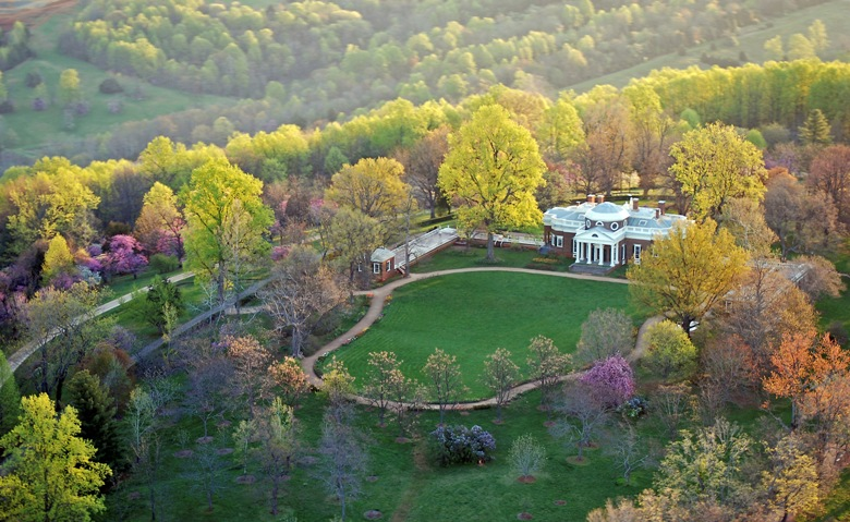 Families get acquainted with Thomas Jefferson at historic Monticello