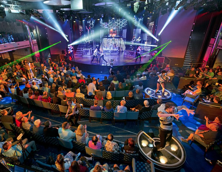 The entertainment never stops aboard Carnival's Vista