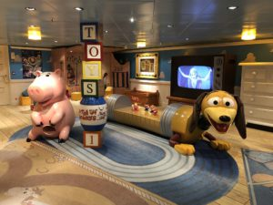 Andy's Room on the Disney Fantasy
