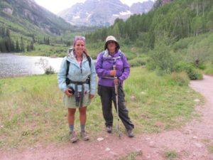 Arrival at the trailhead near Aspen