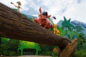 """Hakuna Matata"" at Disney's Art of Animation Resort"