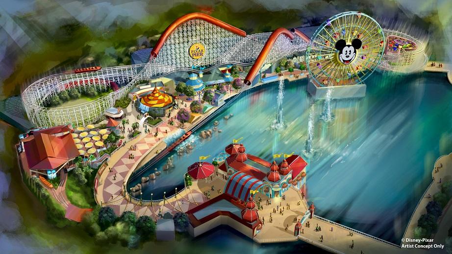 Pixar Pier to Open at Disney California Adventure Park June 23