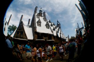 At Wizarding World of Harry Potter by Eva Weinberg