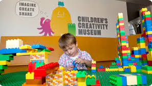At the Children's Creativity Museum in San Francisco