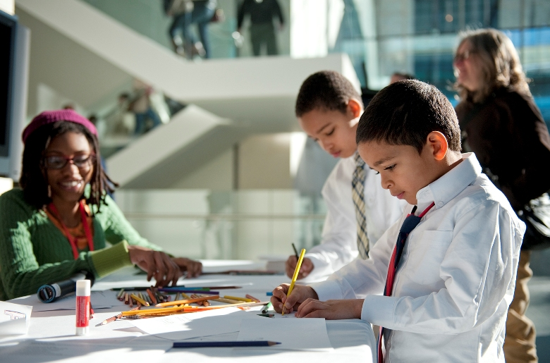 Take your family to an art museum and explore it in new ways