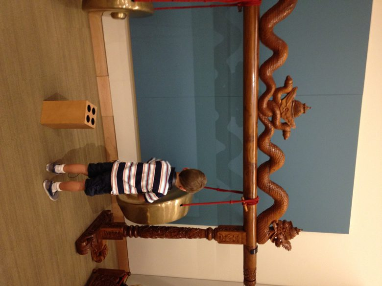 At the Musical Instrument Museum in Phoenix AZ