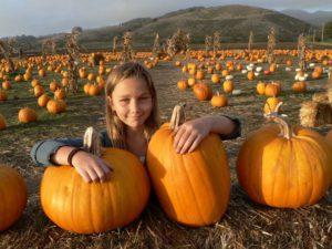 At the Pumpkin Festival in Half Moon Bay CA