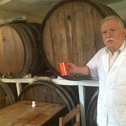 Athens winemaker Dimitris Koliolios