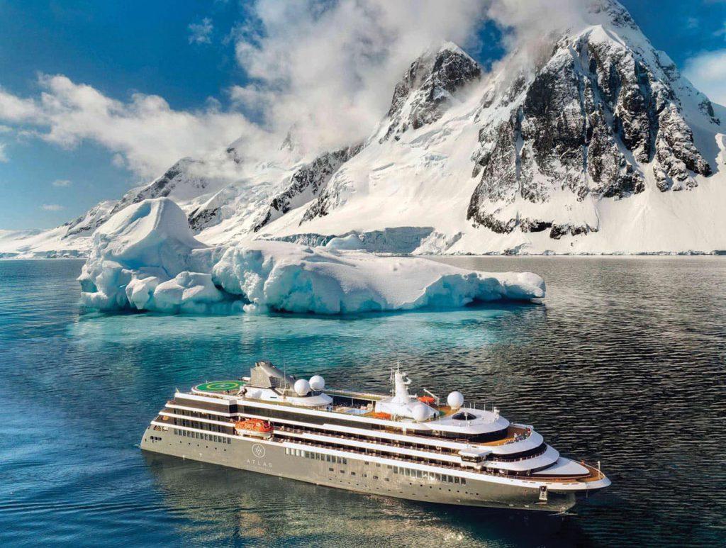 Atlas World Navigator in Antartica