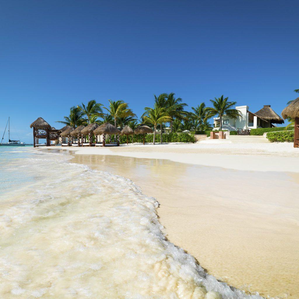 Azul Beach on Riviera Maya, Mexico