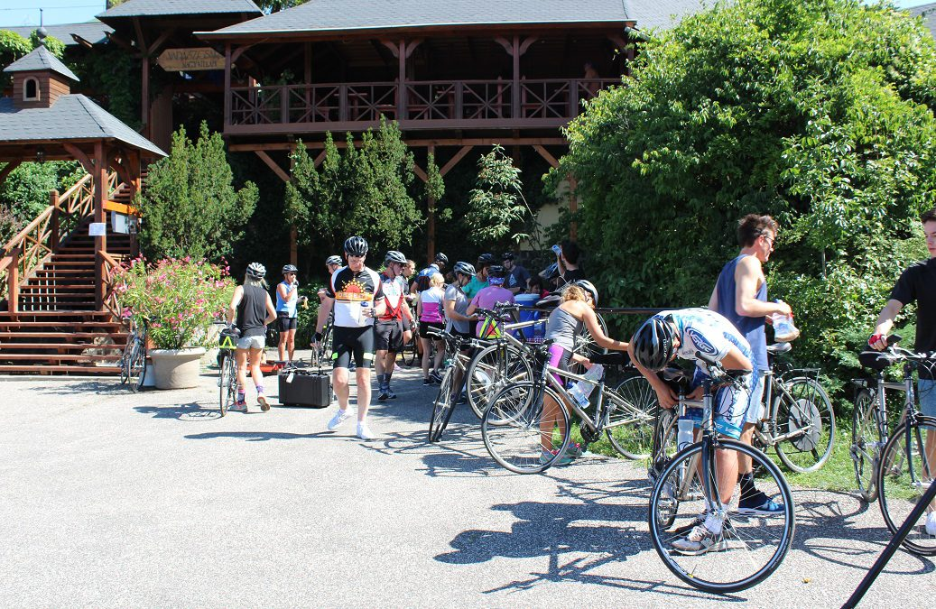 Biking along the Danube in the summer heat – a miracle!