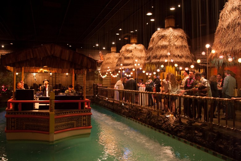 Band on Boat in Tonga Room