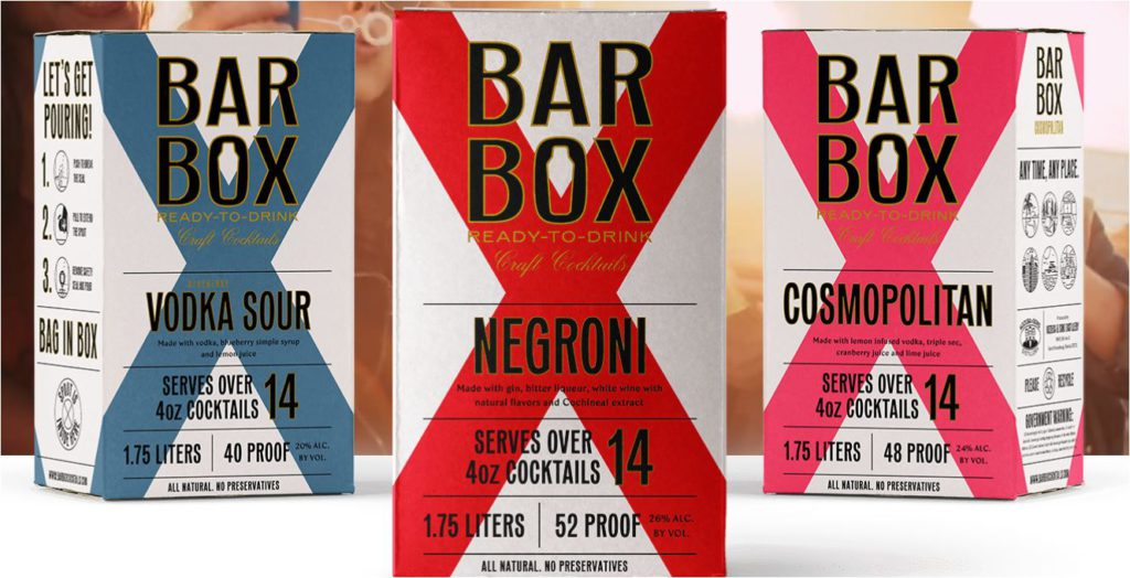 Bar Box cocktails