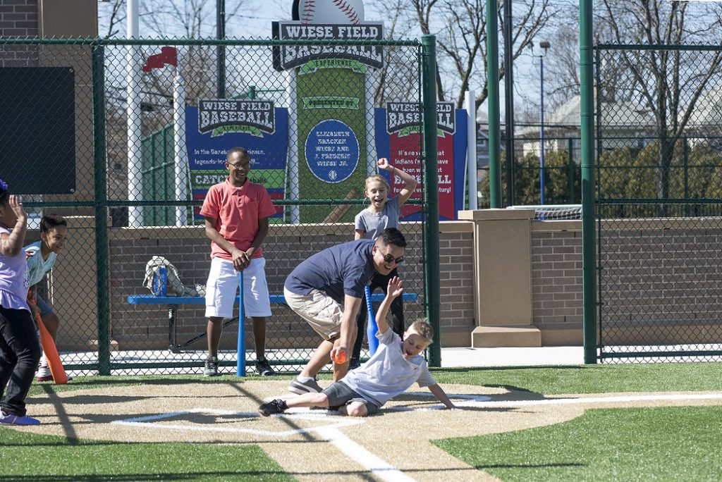 Baseball at the Indianapolis Children's Museum