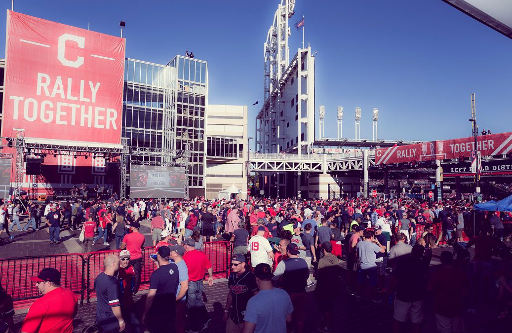 Visiting Two Happy Midwestern Cities Competing in the World Series