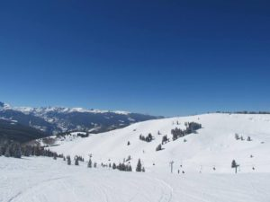 Beautiful but the air is thin in ski country