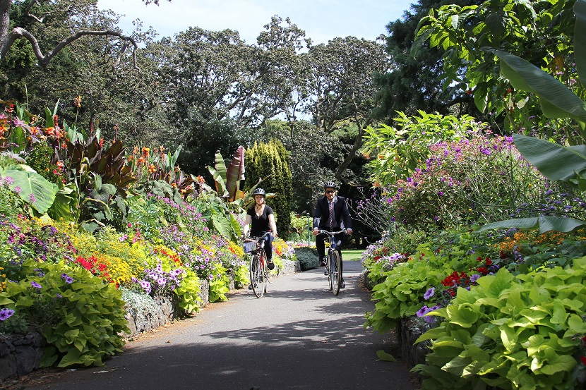 Bikes, Beans and Blooms in Victoria, BC