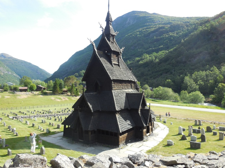 Borgund Stave Church dates to 1180
