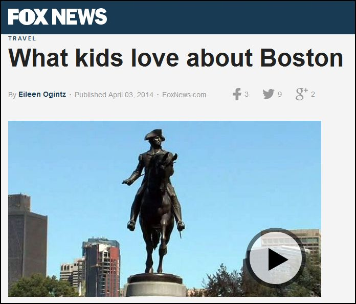Families have fun and learn in Boston