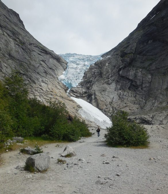 Day five in Norway — trout fishing and glacier gazing