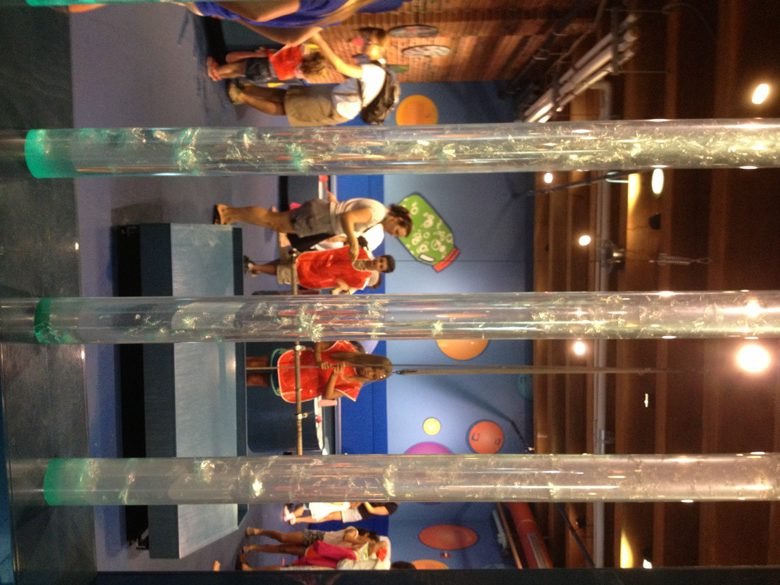 Bubbles and more at the Childrens Museum in Boston