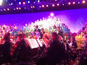 Candellight concert at Epcot