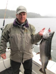 Catch of the day - King Salmon by Jim Long
