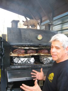 Chef Hartman at Barbeque Exchange