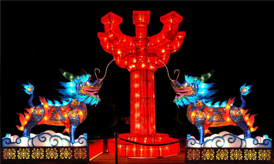 China Lights brighten the night in New Orleans through May 1